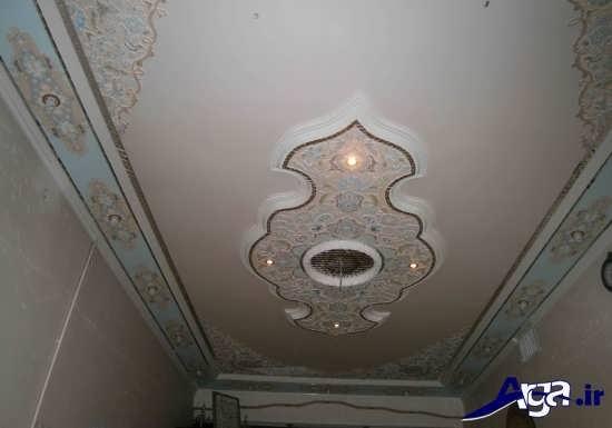 گچبری سقف زیبا و جذاب