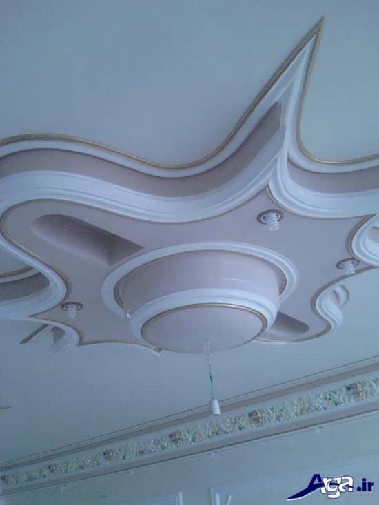 گچبری سقف زیبا و لوکس