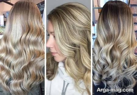 رنگ موی شنی جذاب
