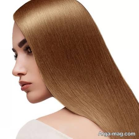 رنگ مو شنی طلایی