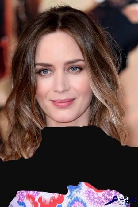 رنگ موی قهوه ای شنی