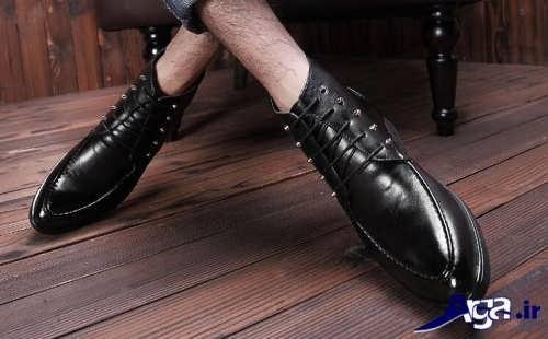 مدل کفش بنددار مجلسی مردانه