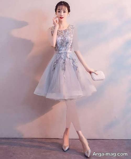 جدیدترین طراحی لباس شب کوتاه