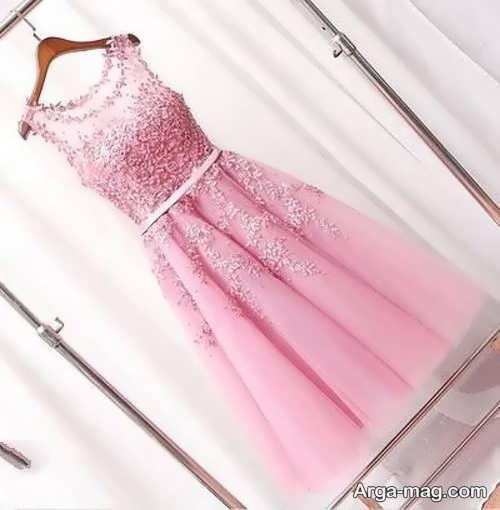 مدل زیبای لباس مجلسی کوتاه