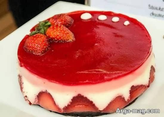 تزیینات شیک کیک ساده