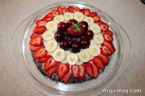 تزیینات زیبای کیک ساده
