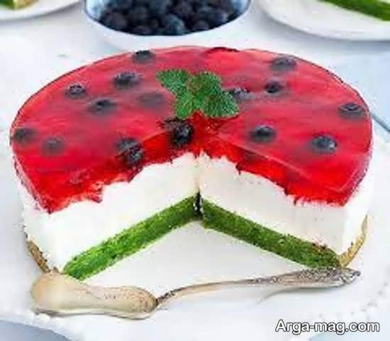 تزیینات کیک ساده