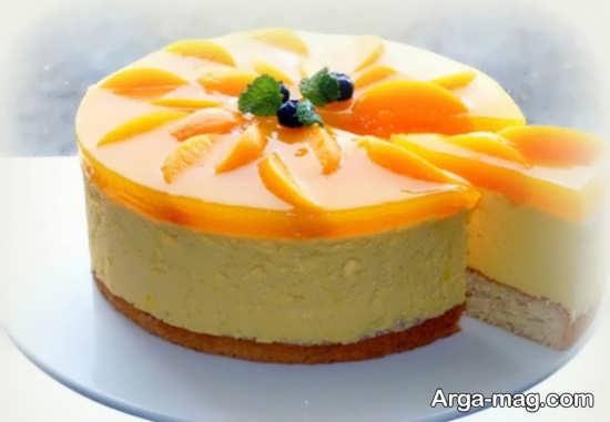 ایده تزیین کیک ساده