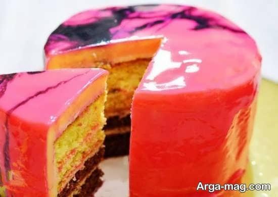 انواع تزیینات کیک ساده