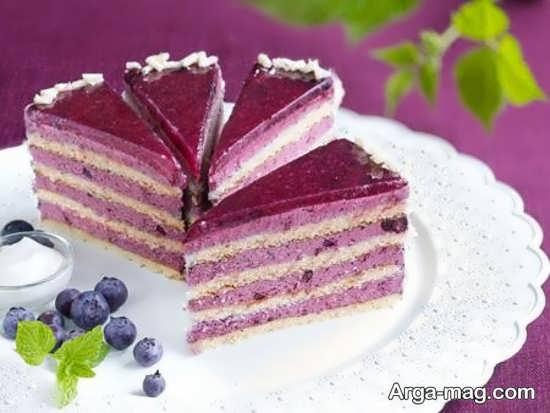 ایده تزیینات کیک ساده
