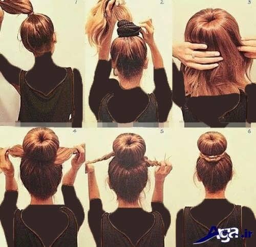آموزش آرایش مو در منزل