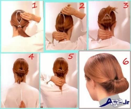 آموزش آرایش موی ساده در خانه