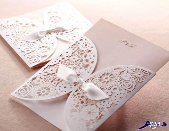 مدل جدید کارت عروسی