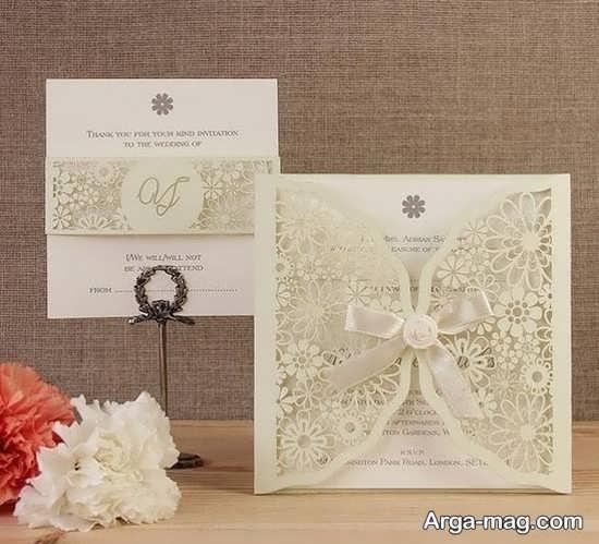 کارت دعوت عروسی ویژه