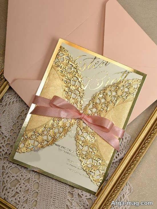 کارت عروسی با طرحی خاص