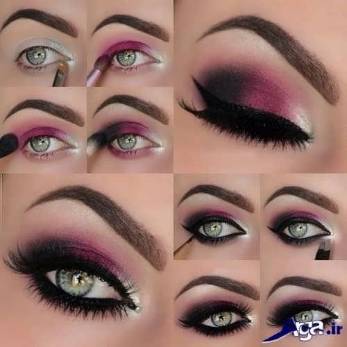 سایه چشم زیبا و متفاوت