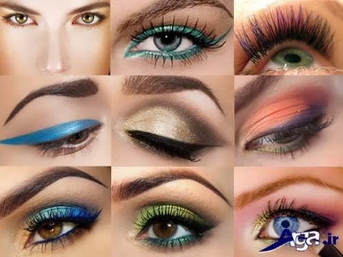 انواع مدل های متنوع سایه چشم