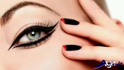 خط چشم زیبا و متفاوت
