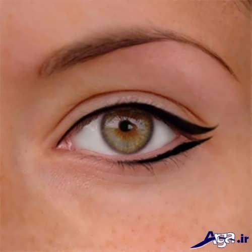 خط چشم ساده