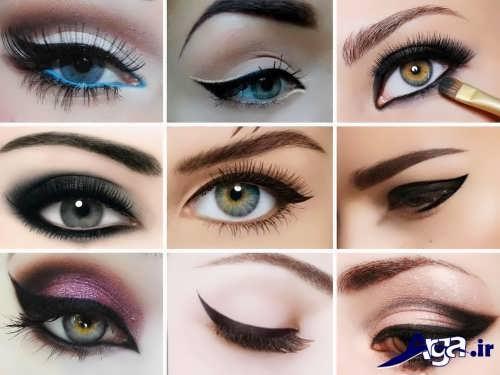 مدل خط چشم زیبا و متفاوت