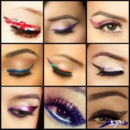 مدل های خط چشم زنانه