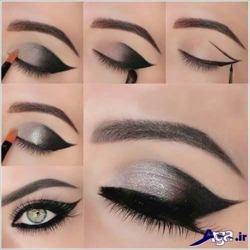 مدل سایه چشم و خط چشم