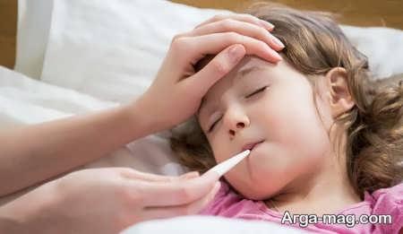 روش های کاهش تب در کودکان