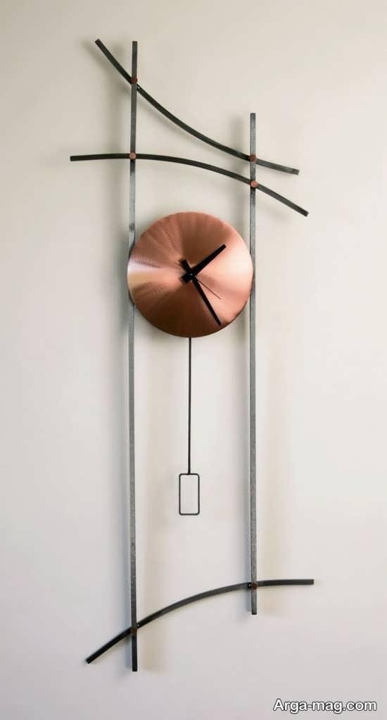 مدلی شیک از ساعت دیواری