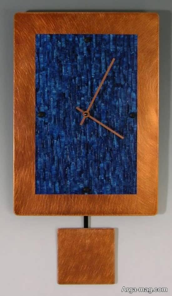 مدلی جذاب از ساعت دیواری