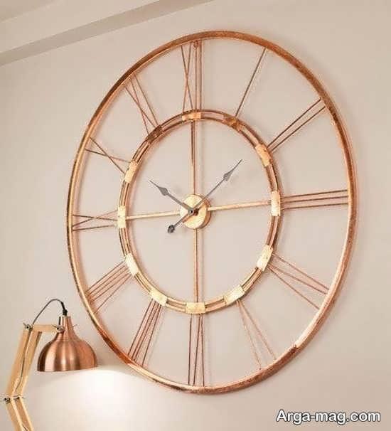 مدلی از ساعت دیواری جدید