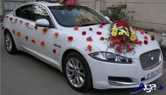 عکس ماشین عروس ساده