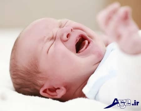 دلایل مختلف کار نکردن شکم نوزادان