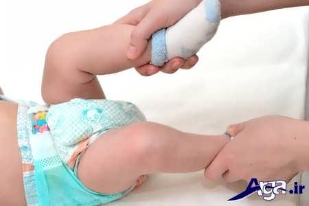 دلایل مهم کار نکردن شکم نوزادان
