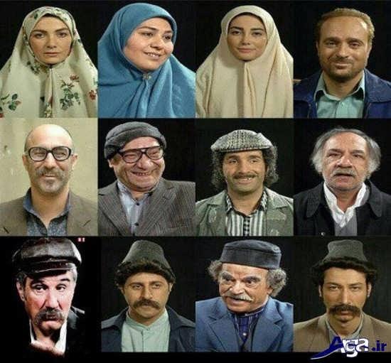 عکس بازیگران سریال علی البدل