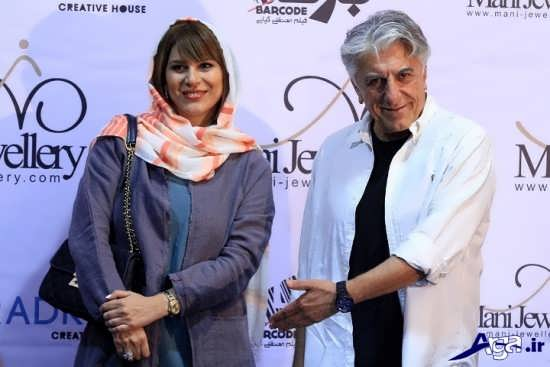 عکس بازیگران در مهمانی بهرام رادان