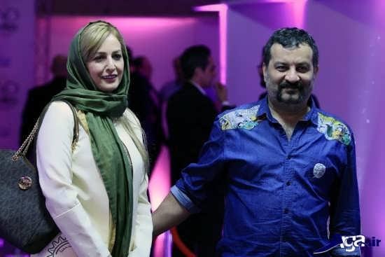 عکس شقایق دهقان و همسرش