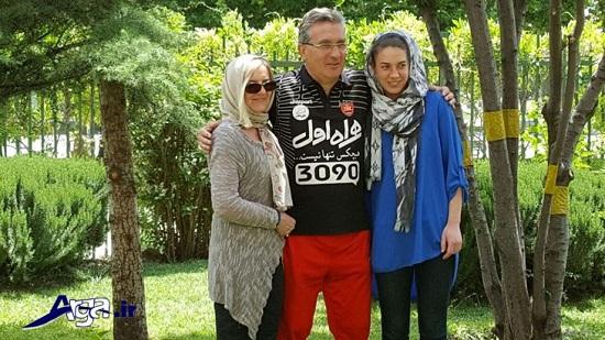 همسر و دختر برانکو در ایران