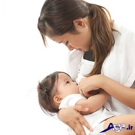 روش شیر دادن صحیح به نوزاد