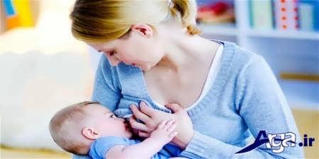 شیر دادن و تغذیه نوزاد از شیر مادر