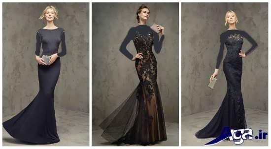 انواع مدل های لباس مجلسی گیپور