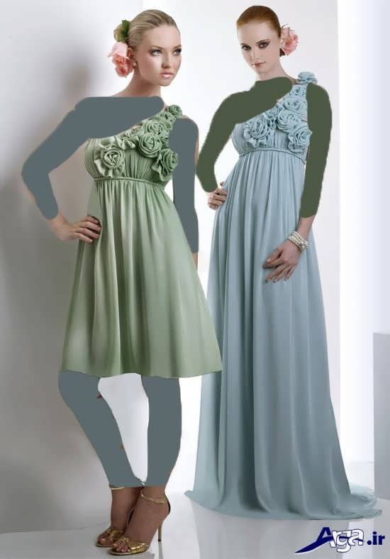 انواع مدل لباس مجلسی با طرح کوتاه و بلند