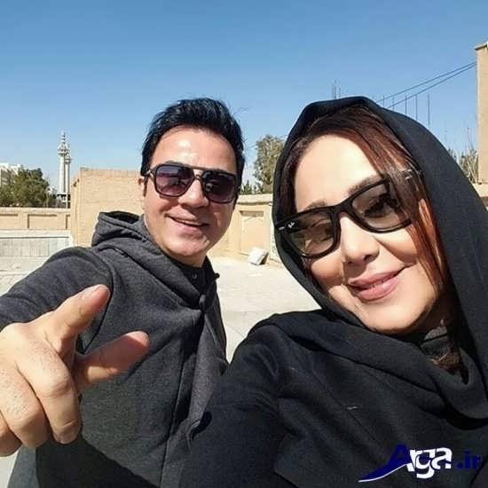 پورنگ و همسرش