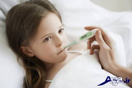 درمان و علل تب در کودکان