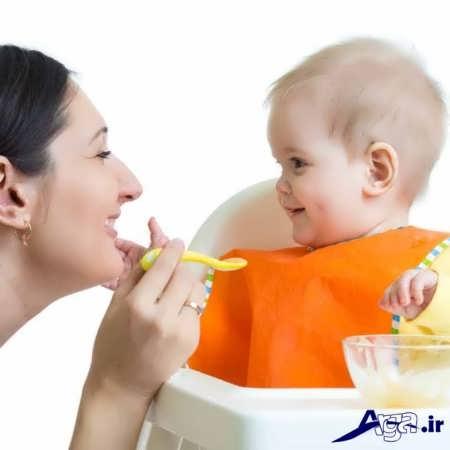 غذای کودک شش ماهه