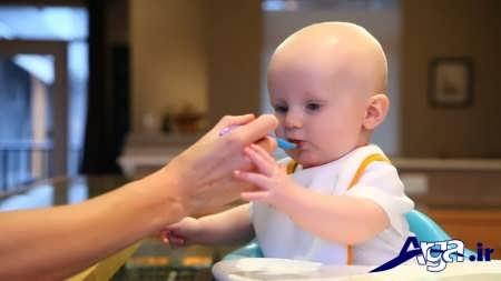 غذای مناسب برای کودک شش ماهه