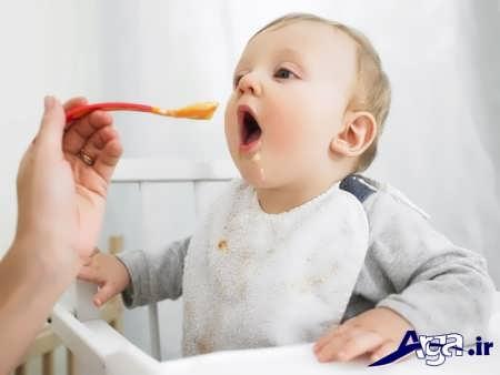 غذای مضر برای کودک شش ماهه
