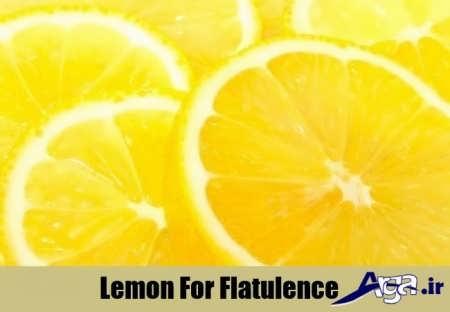 لیمو برای درمان و رفع نفخ معده