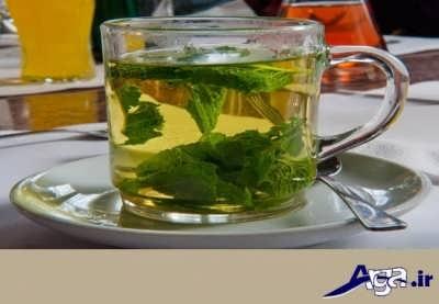 چای نعناع برای عفونت معده