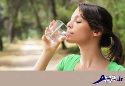 آب برای درمان عفونت معده و روده