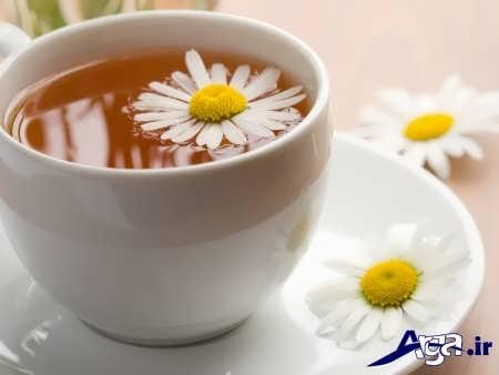 چای بابونه و دل درد در کودکان